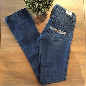 """Guess """"Starlet"""" Straight Legged Stretchy Jeans"""